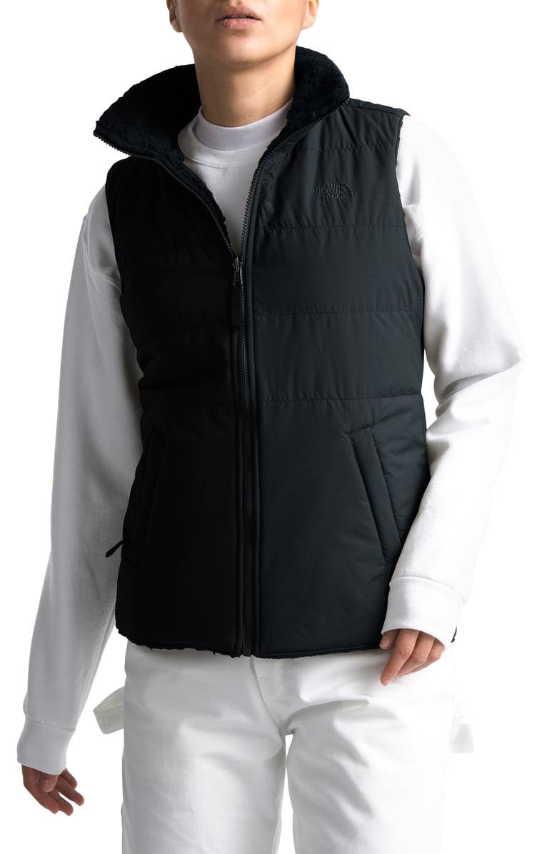 THE NORTH FACE Merriewood Reversible Puffer Vest, Main, color, 001