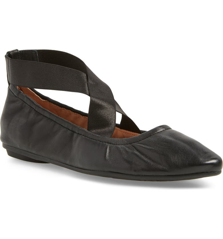 TARYN ROSE Edina Ballet Flat, Main, color, 004