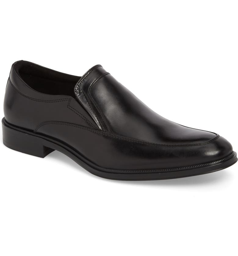 KENNETH COLE NEW YORK Tully Venetian Loafer, Main, color, BLACK LEATHER
