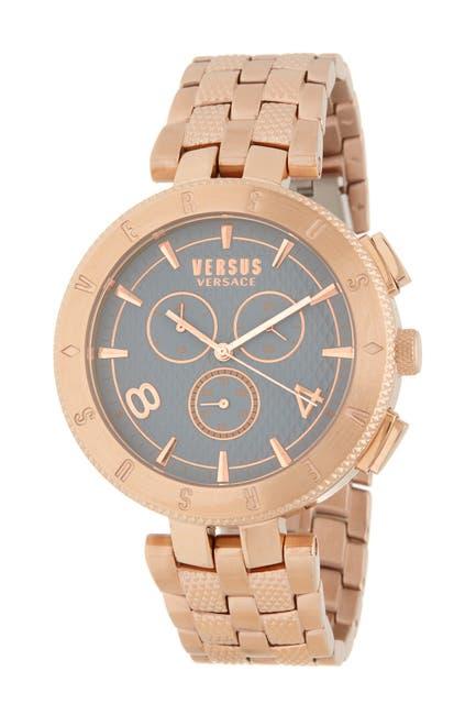 Image of VERSUS Men's Logo Gent Chronograph Bracelet Watch, 44mm