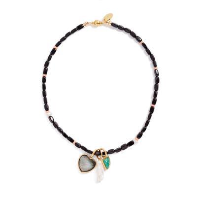 Lizzie Fortunato Catalina Charm Necklace