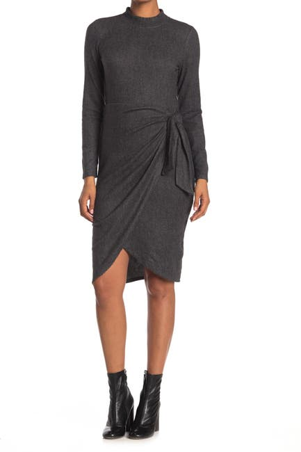 Image of Collective Concepts Long Sleeve Knit Dress