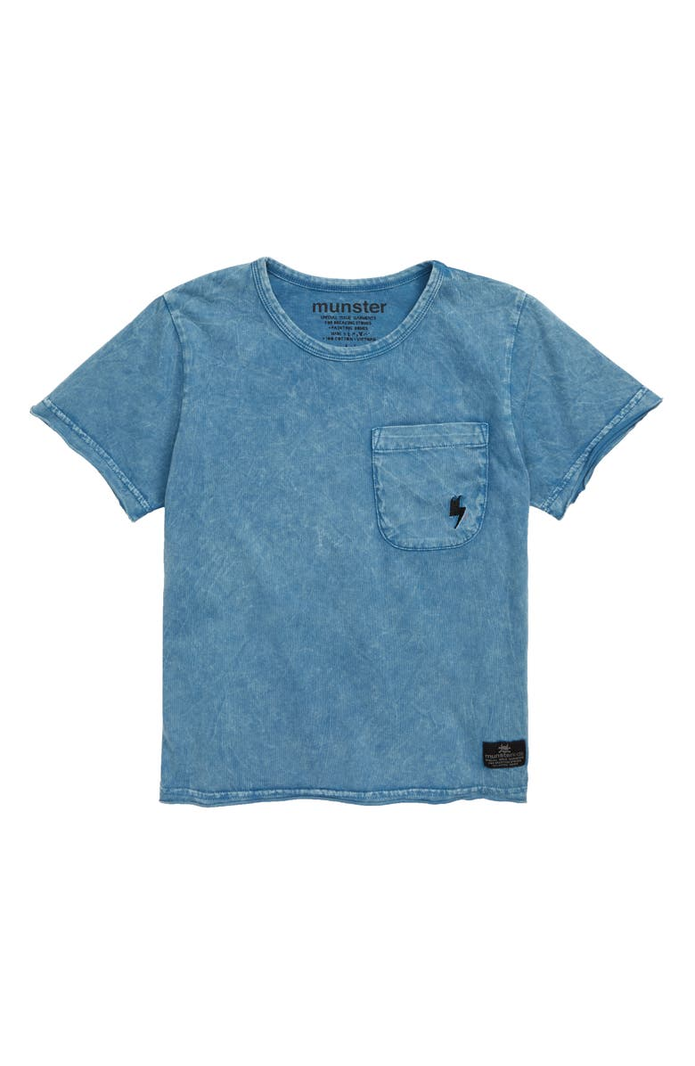 MUNSTERKIDS Clasik 2 Pocket T-Shirt, Main, color, 450