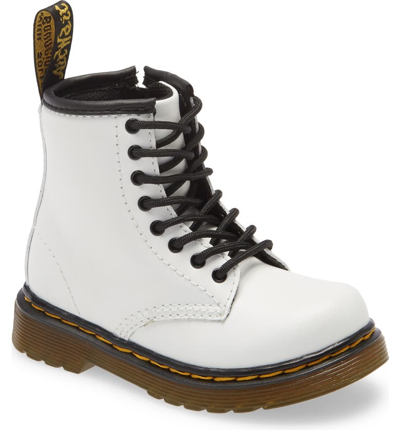 DR. MARTENS 1460 Boot, Main, color, WHITE