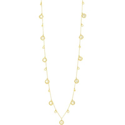 Freida Rothman Color Theory Stone Droplet Necklace
