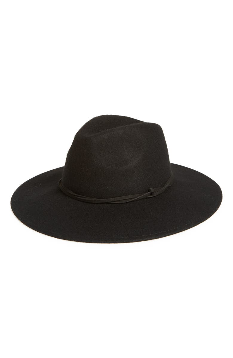 TREASURE & BOND Felt Panama Hat, Main, color, 001