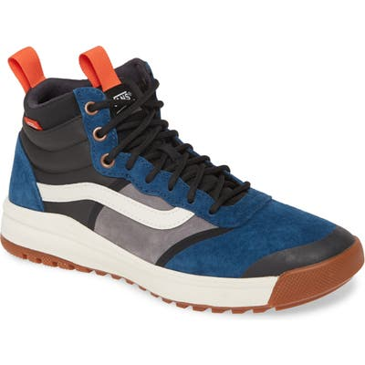 Vans Ultrarange Hi Dl Mte Sneaker- Blue