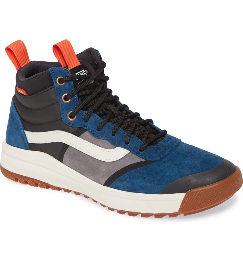 VANS UltraRange Hi DL MTE Sneaker, Main, color, GIBRALTAR SEA/ MARSHMALLOW