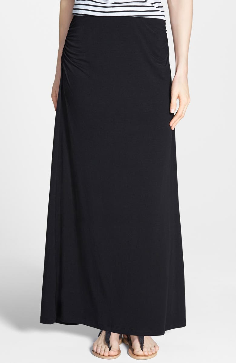 CASLON<SUP>®</SUP> Convertible Maxi Skirt, Main, color, 001