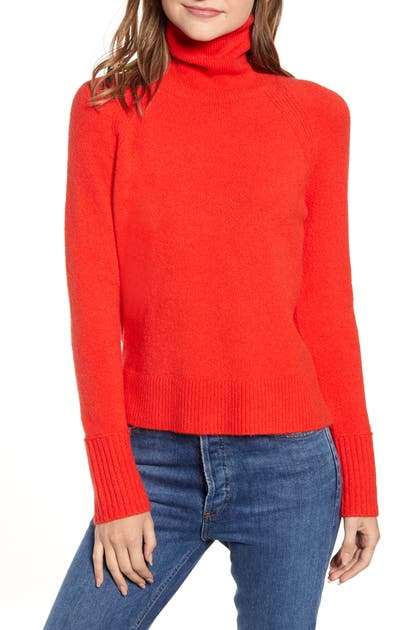 J.crew Sweaters SIDE SLIT SUPERSOFT TURTLENECK SWEATER
