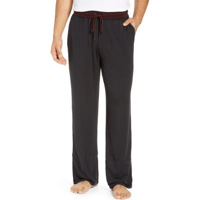 Daniel Buchler Modal Blend Pajama Pants, Black