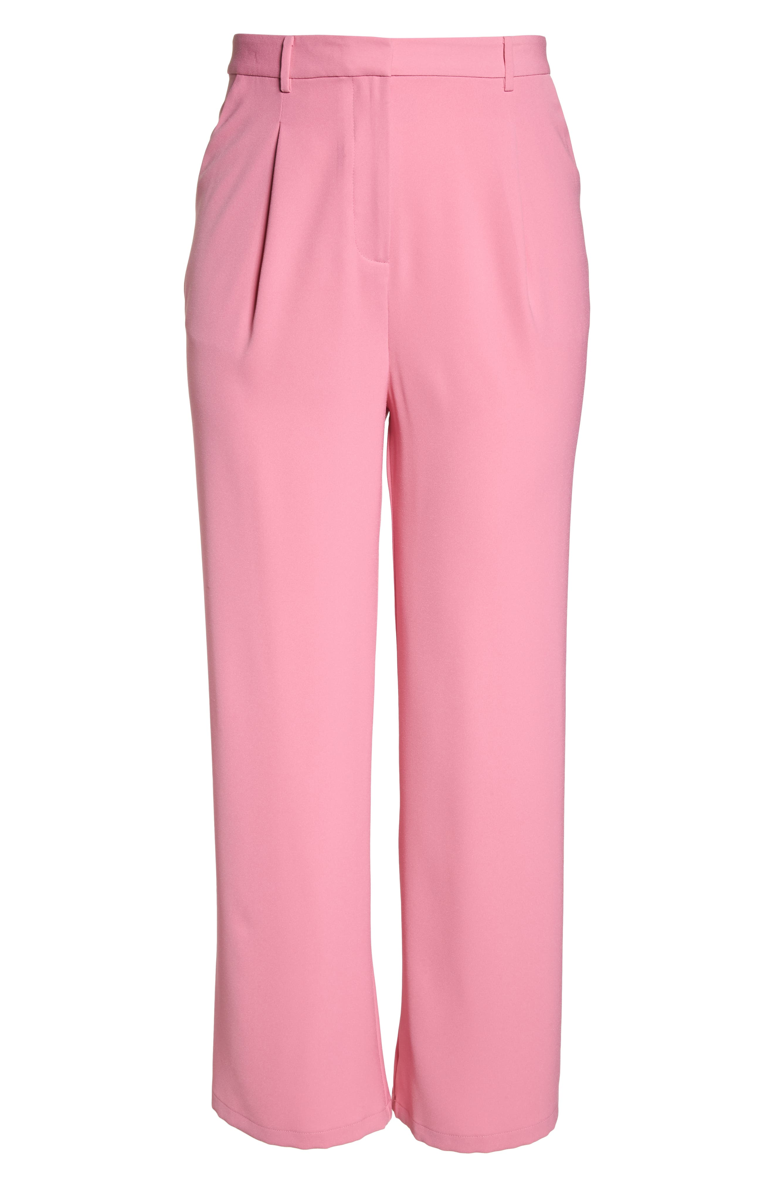 ,                             High Waist Flare Pants,                             Alternate thumbnail 40, color,                             660