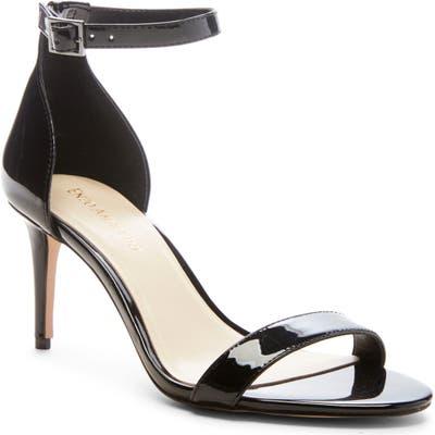 Enzo Angiolini Ahmber Ankle Strap Sandal, Black