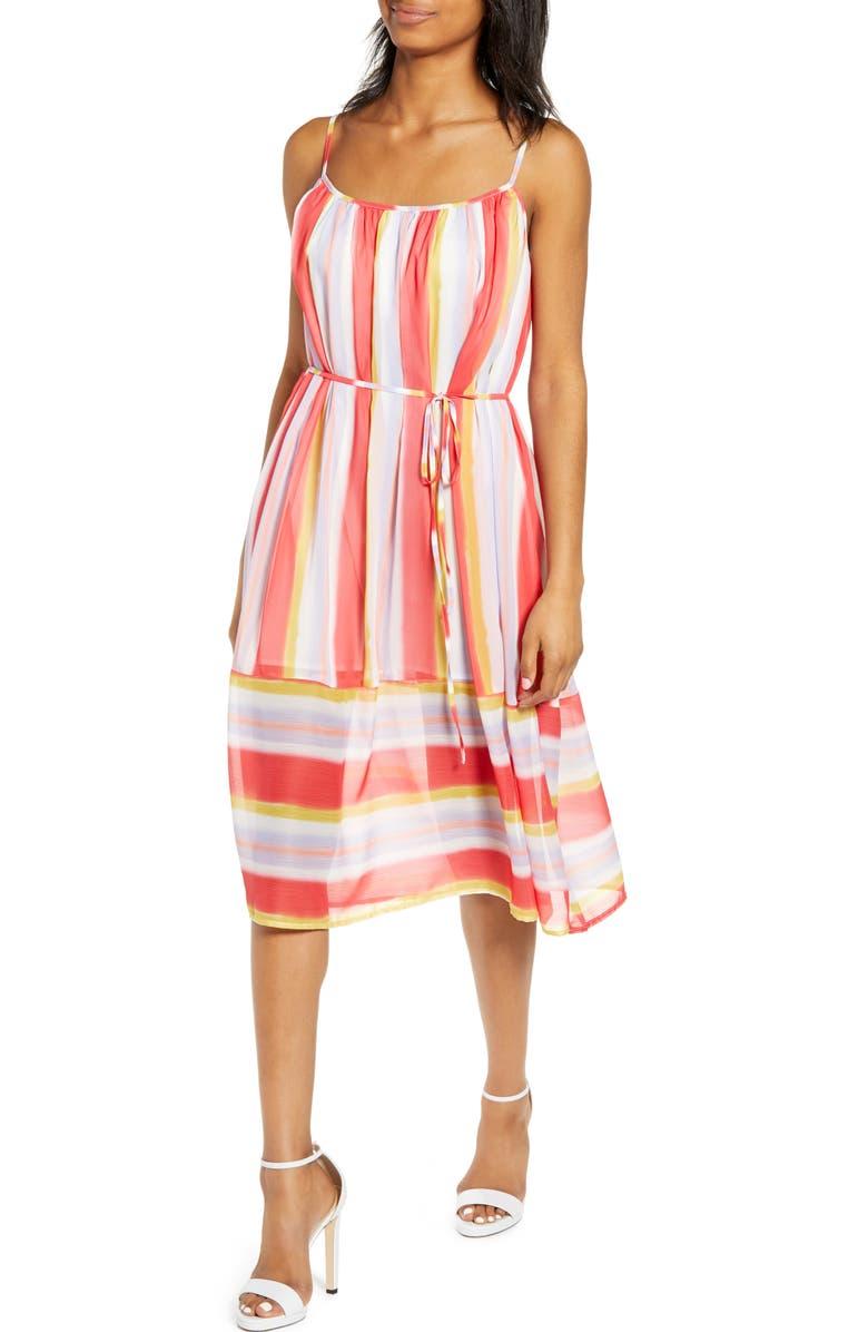 33c7fdf25 Endless Rose Stripe Fit & Flare Dress | Nordstrom