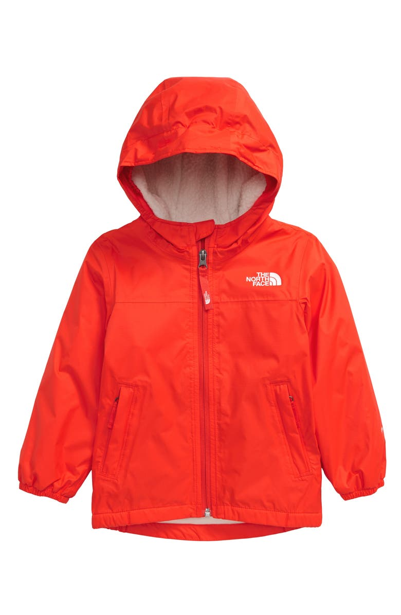 THE NORTH FACE Warm Storm Waterproof Hooded Jacket, Main, color, 601