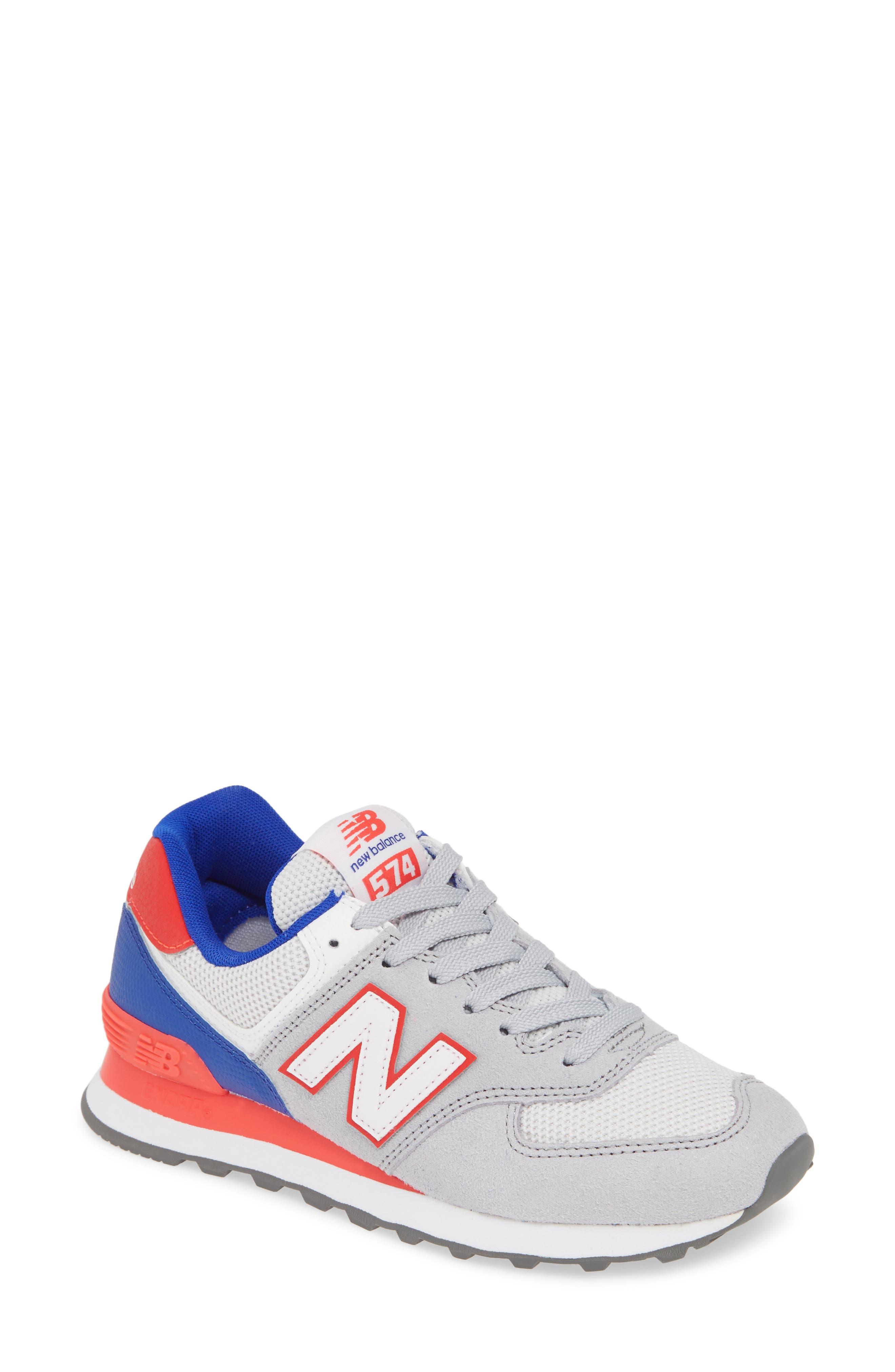 ,                             '574' Sneaker,                             Main thumbnail 1, color,                             RAIN CLOUD