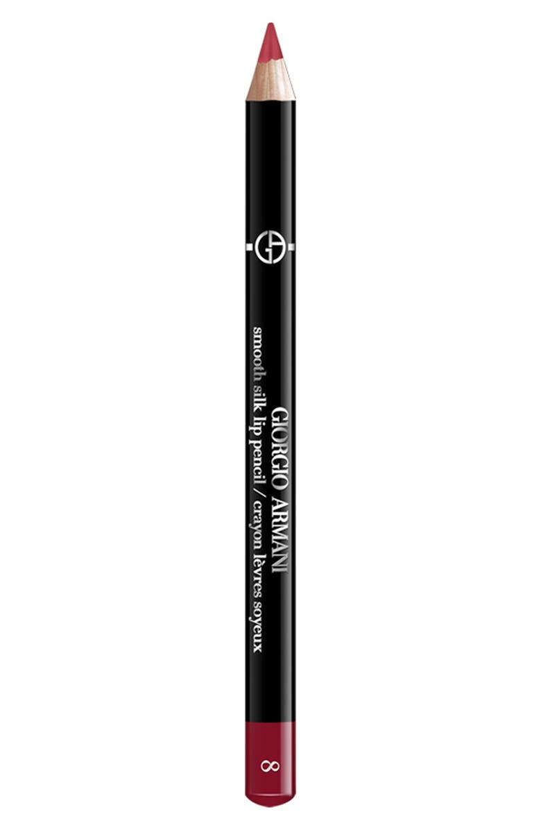 GIORGIO ARMANI Smooth Silk Lip Pencil, Main, color, 08