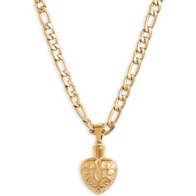 Bracha Lovers Heart Necklace
