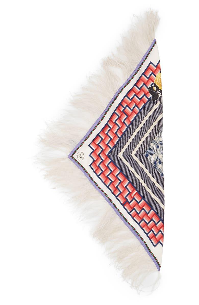 MANTERO Labyrinth Silk Scarf, Main, color, 600