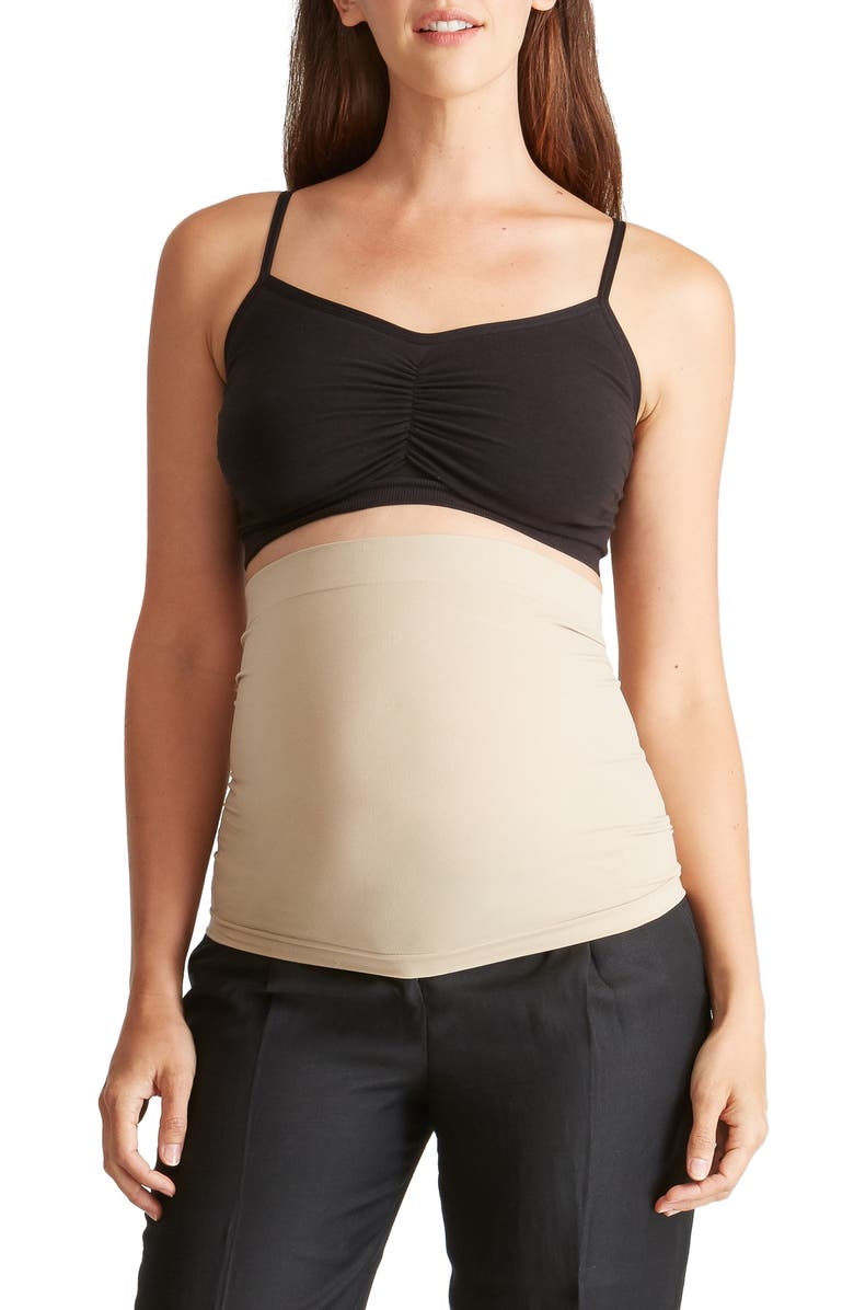 INGRID & ISABEL<SUP>®</SUP> 'Everyday' Maternity BellaBand<sup>®</sup>, Main, color, NUDE