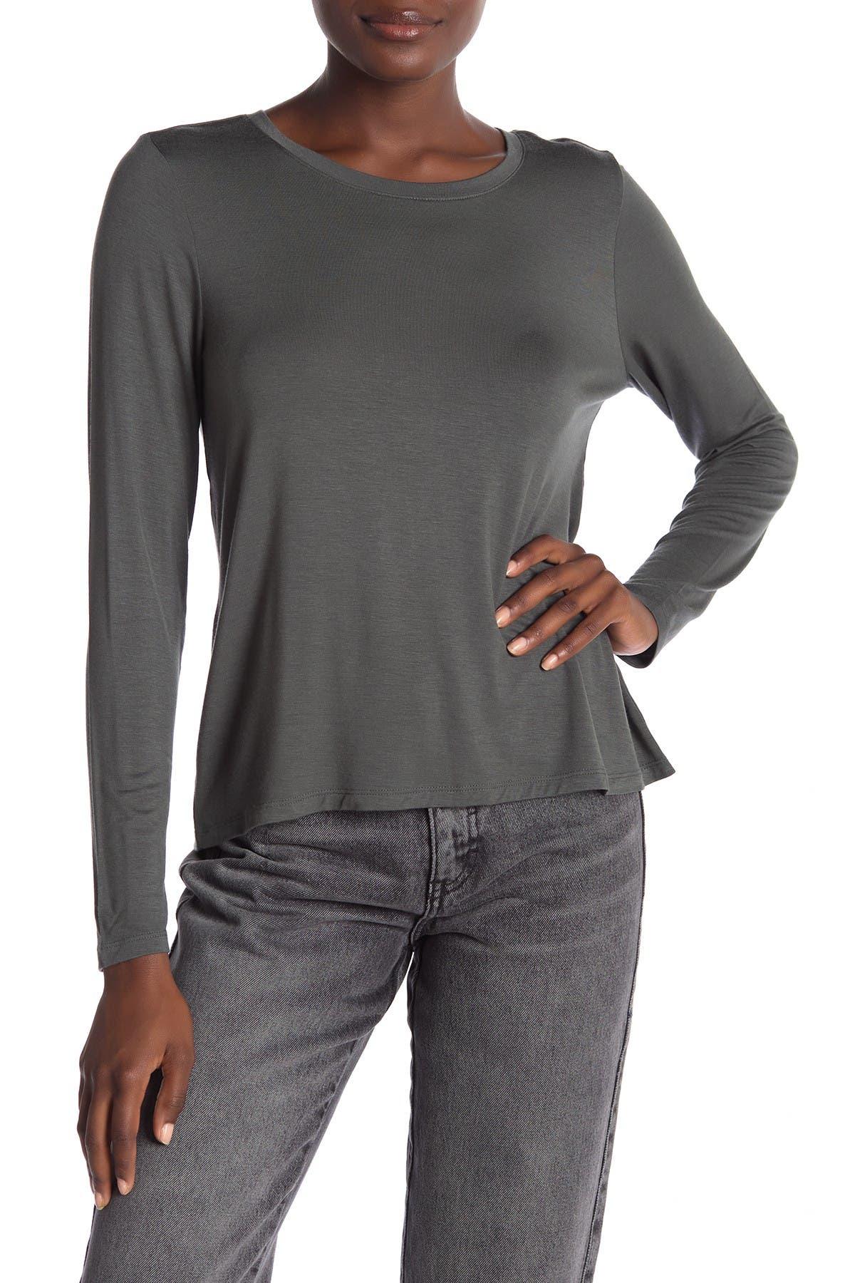 Image of Halogen Back Vent Long Sleeve T-Shirt
