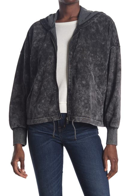 Image of BB Dakota Outer Limits Washed Hoodie Jacket