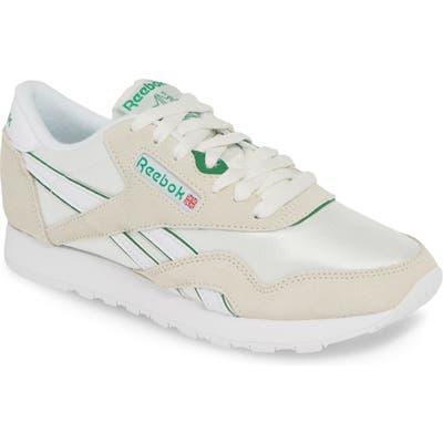 Reebok Classic Nylon Sneaker, White