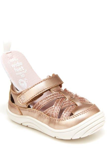 Image of Stride Rite Amos 2.0 Metallic Strappy Sneaker
