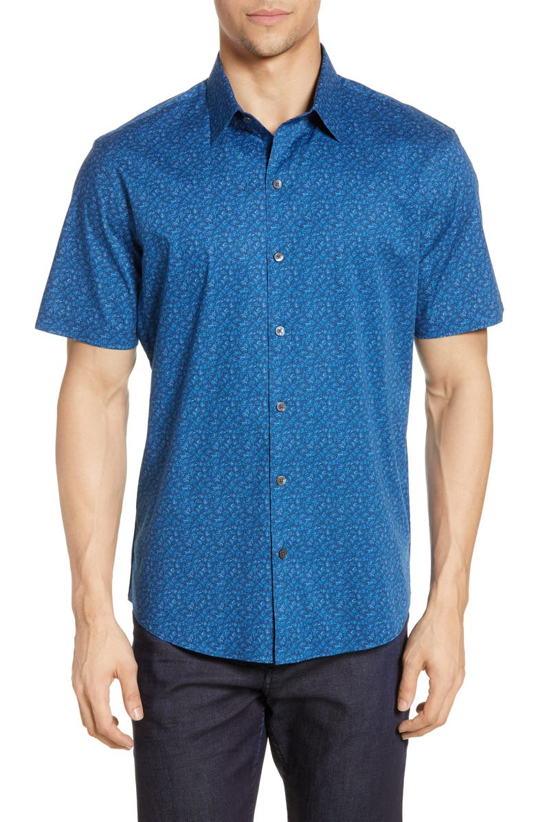 ZACHARY PRELL Colina Regular Fit Shirt, Main, color, 410