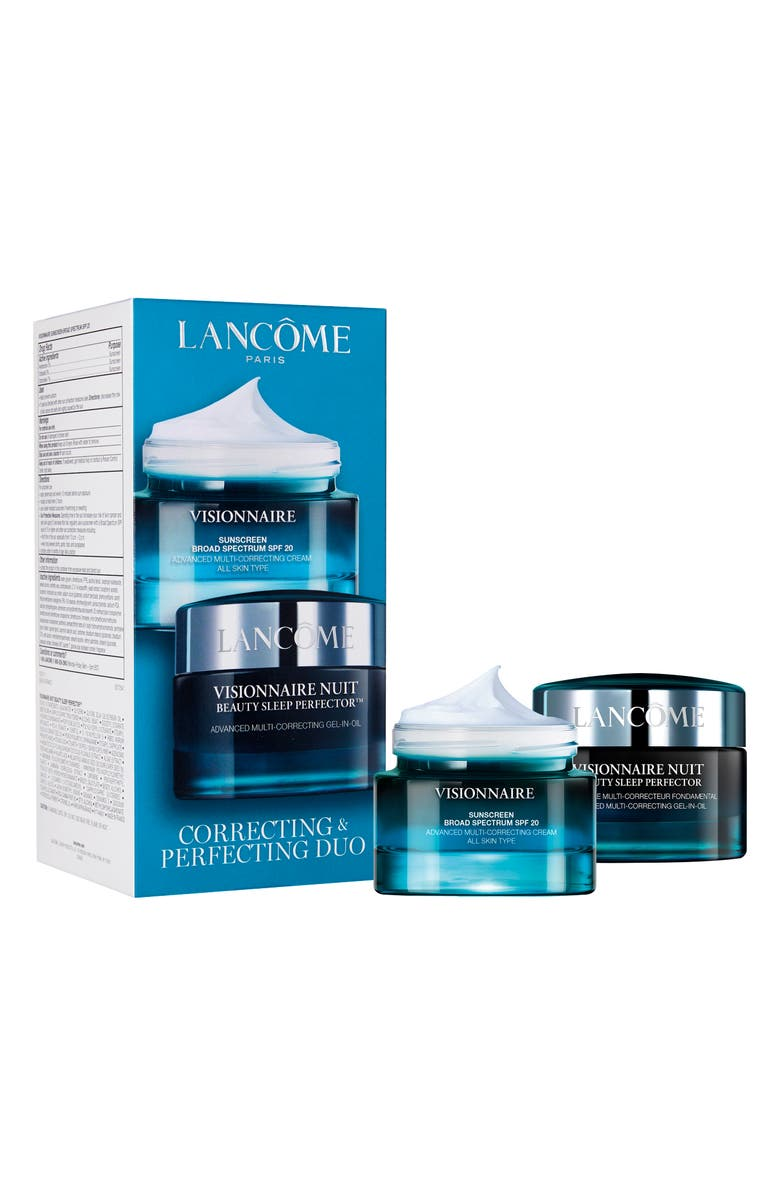 LANCÔME Visionnaire Full Size Correcting & Protecting Set, Main, color, NO COLOR