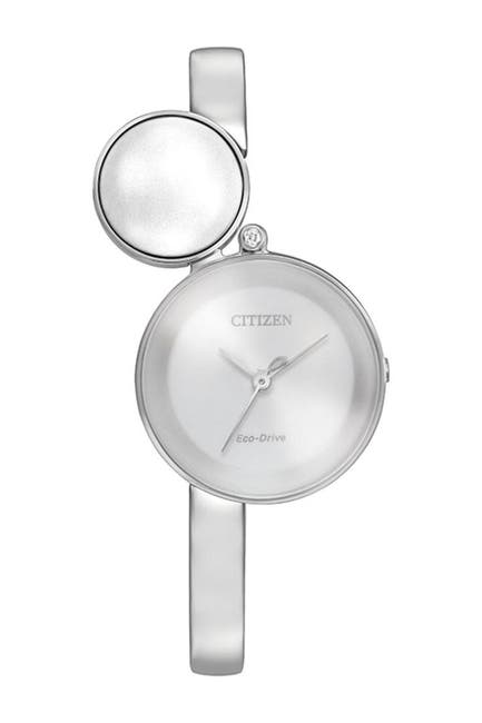 Image of Citizen Women's Silhouette Silver Dial Watch, 25mm