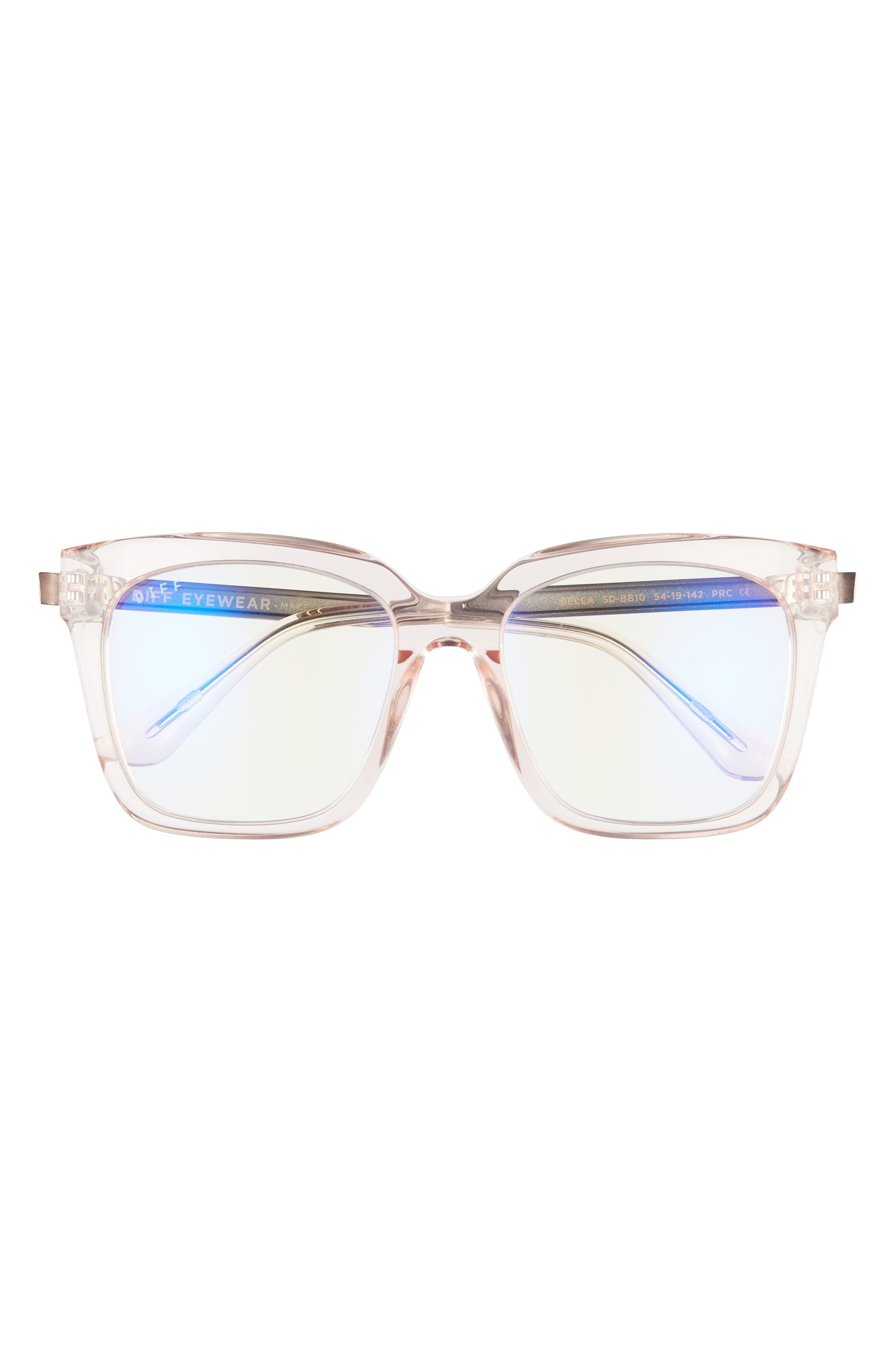 Sawyer 54mm Square Blue Light Blocking Glasses