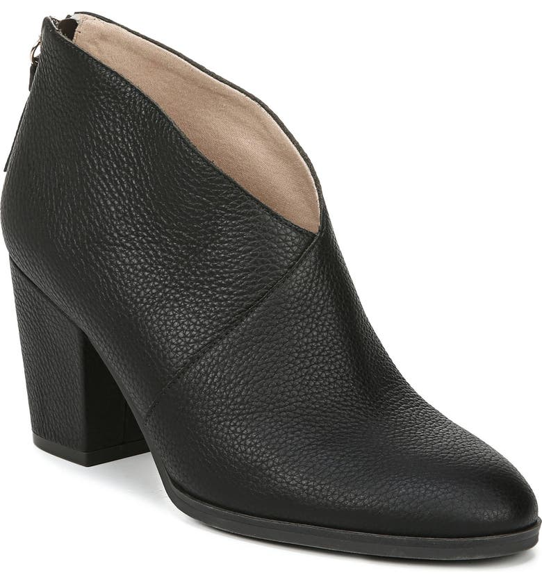 DR. SCHOLL'S All Good Bootie, Main, color, BLACK LEATHER