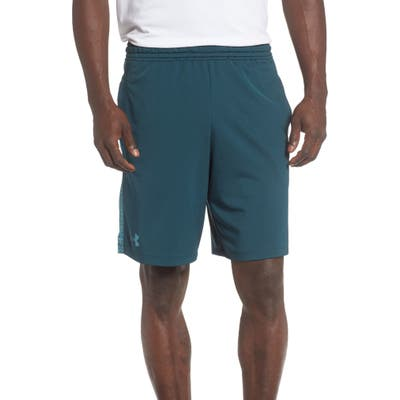 Under Armour Mk1 Athletic Shorts, Green
