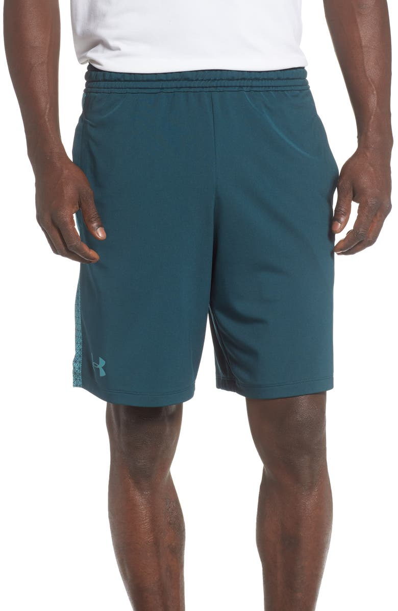 UNDER ARMOUR MK1 Athletic Shorts, Main, color, 366