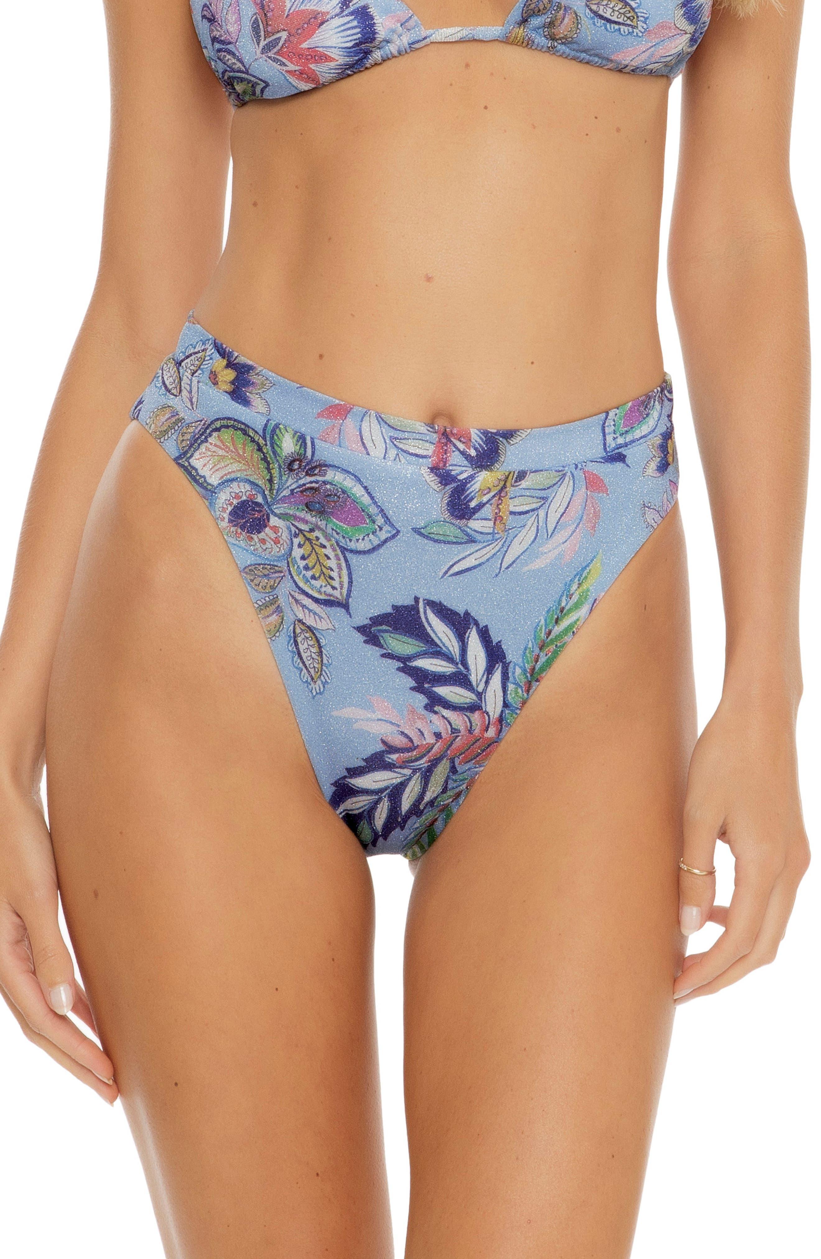 South Pacific High Waist Bikini Bottoms