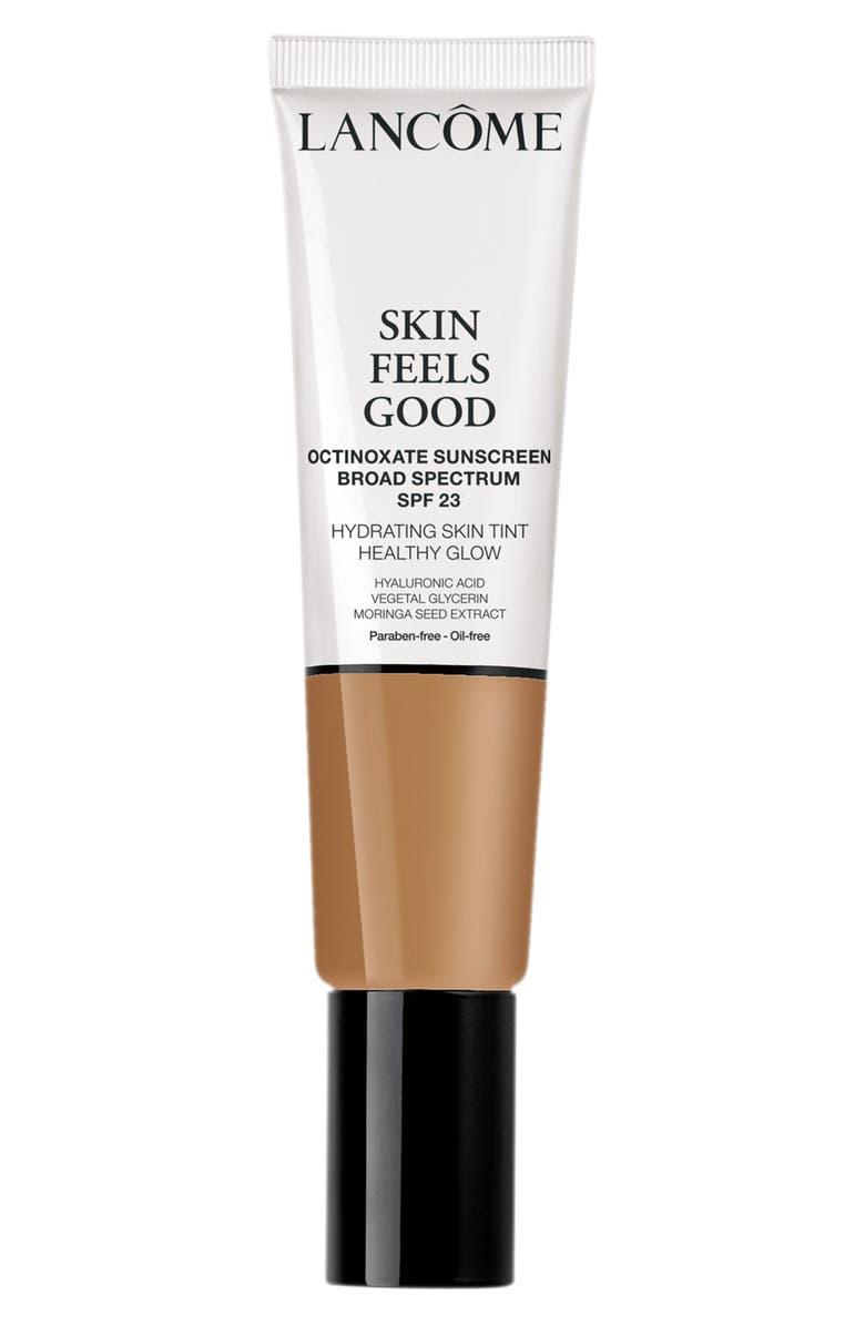 LANCÔME Skin Feels Good Hydrating Skin Tint Healthy Glow SPF 23, Main, color, 08N SWEET HONEY