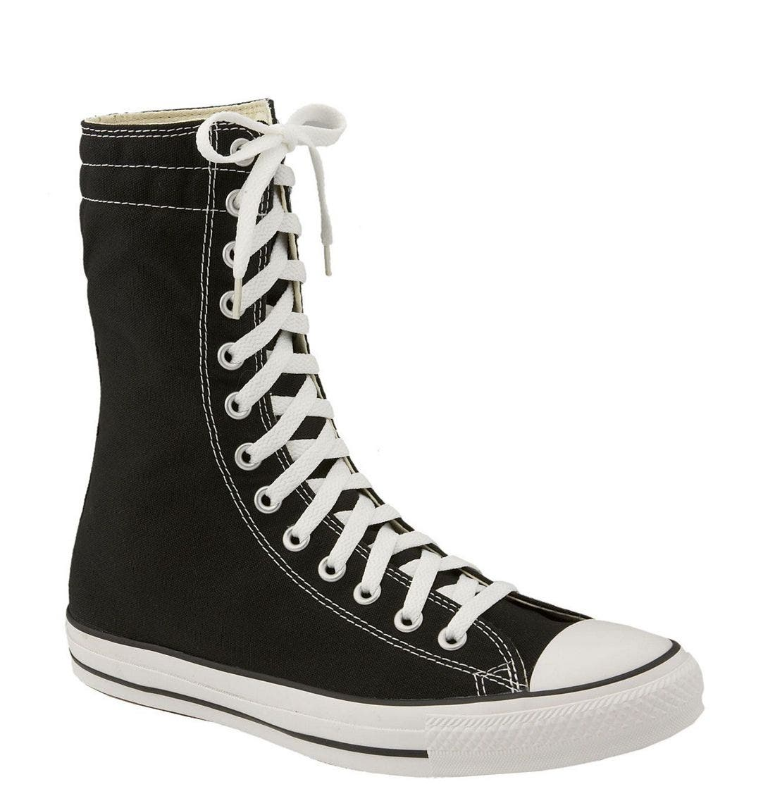 black converse high tops very - 51% OFF