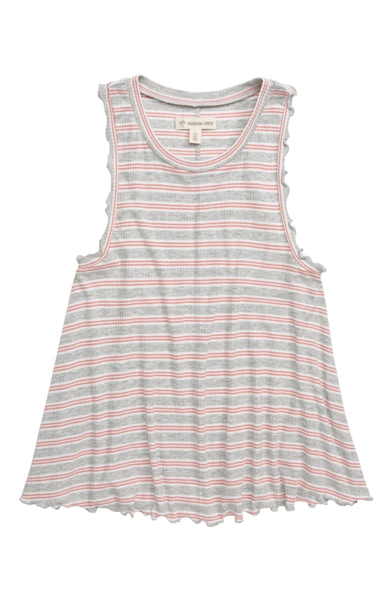 TUCKER + TATE Frilly Stripe Tank, Main, color, 050
