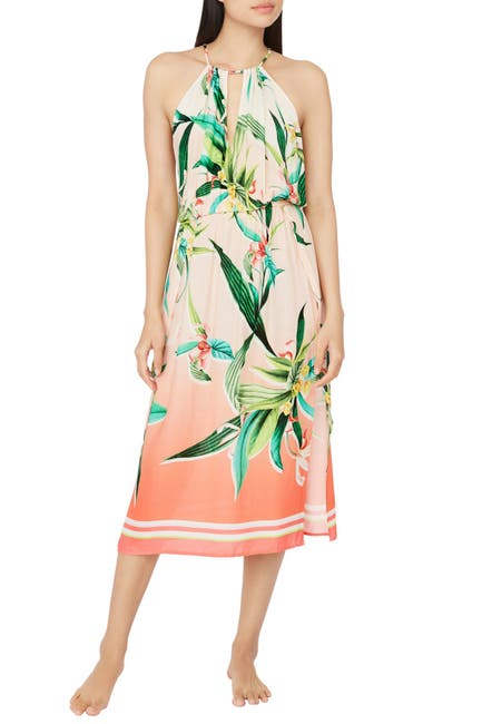 Image of Trina Turk Costa De Prata Printed Dress