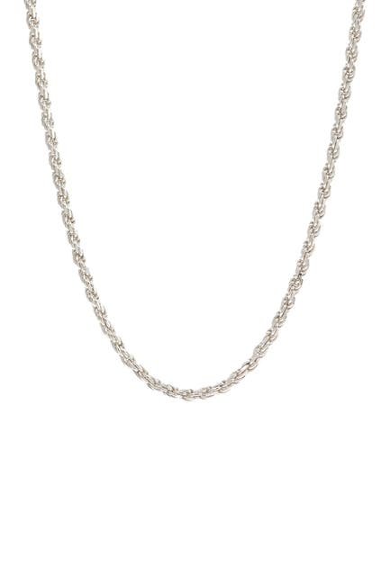 Image of Best Silver Inc. Sterling Silver Rope Chain 20""