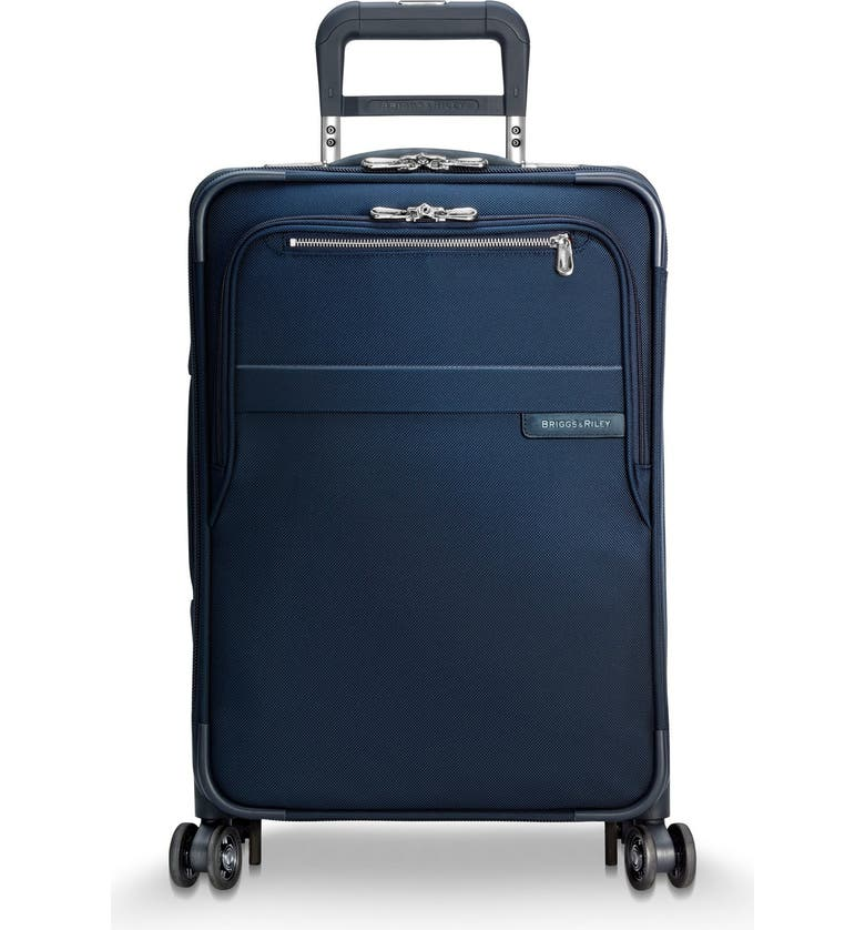 BRIGGS & RILEY Baseline 22-Inch Rolling Suitcase, Main, color, NAVY