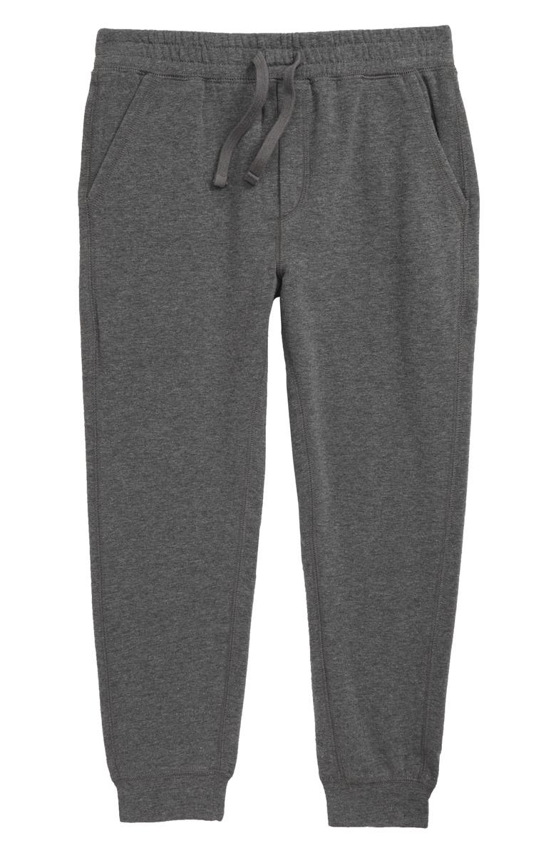 TUCKER + TATE Start Up Sweatpants, Main, color, GREY CHARCOAL HEATHER