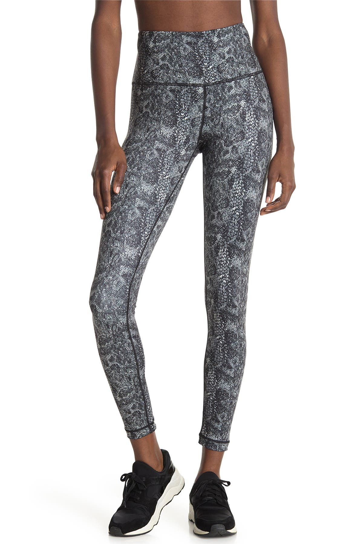 Image of Max Studio Earthday Snake Print High Rise Leggings