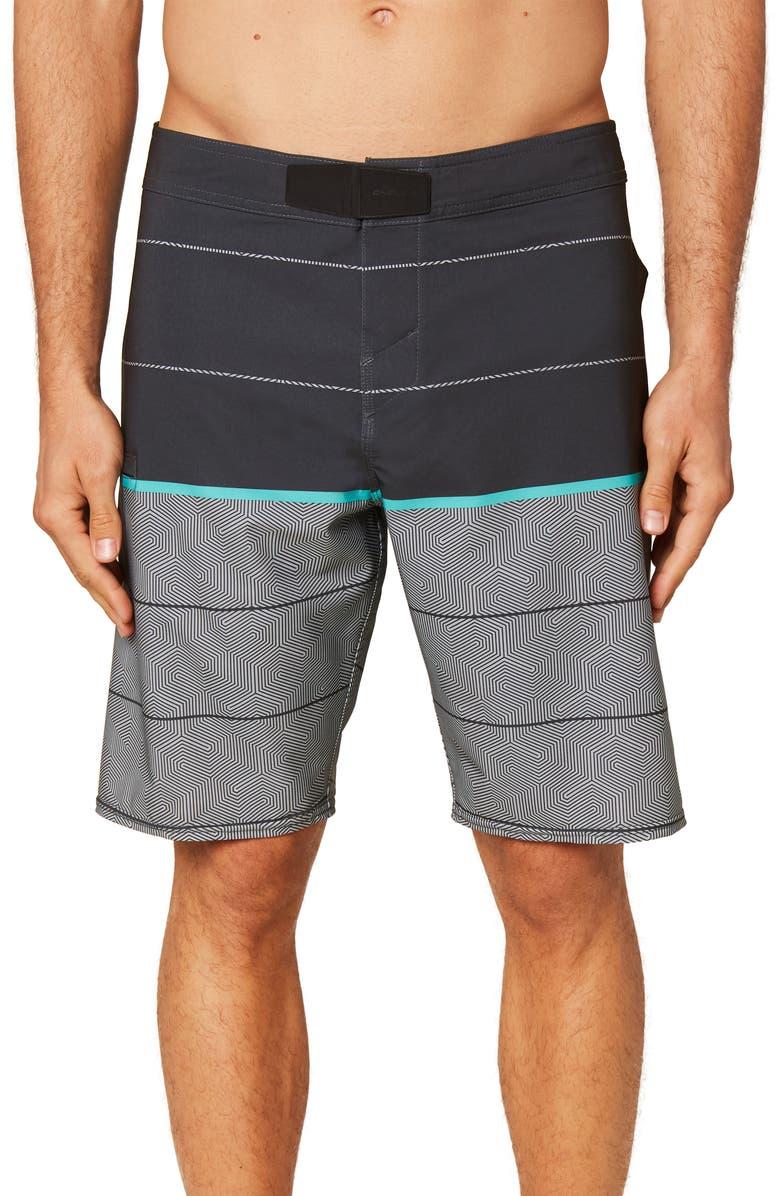 O'NEILL Hyperfreak Hydro Wanderer Board Shorts, Main, color, GRAPHITE