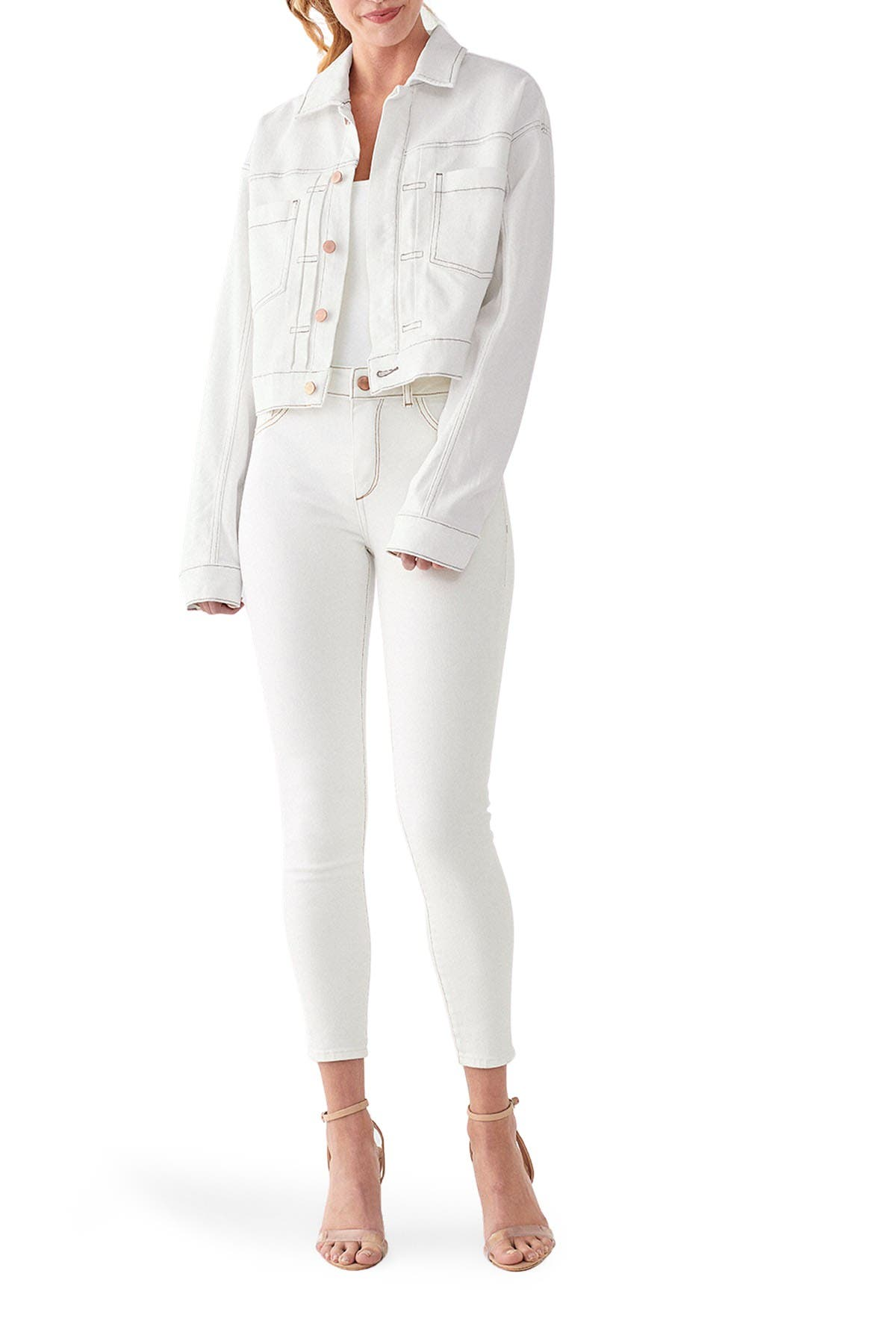 Image of DL1961 Annie Relaxed Vintage Jacket