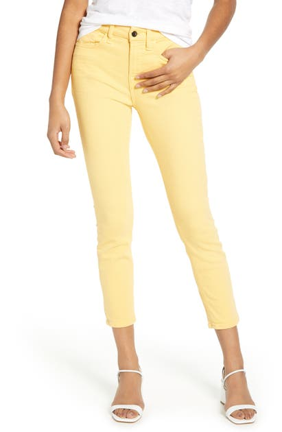 Jen7 By 7 For All Mankind SAND WASHED ANKLE SKINNY JEANS