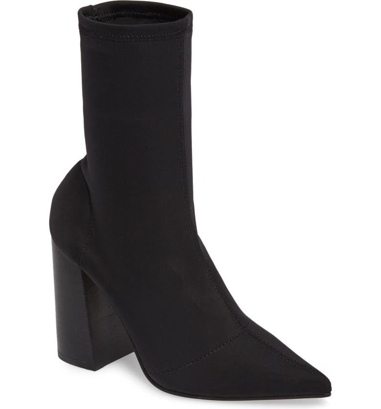 4fa46d123ac Lombard Pointy Toe Sock Bootie