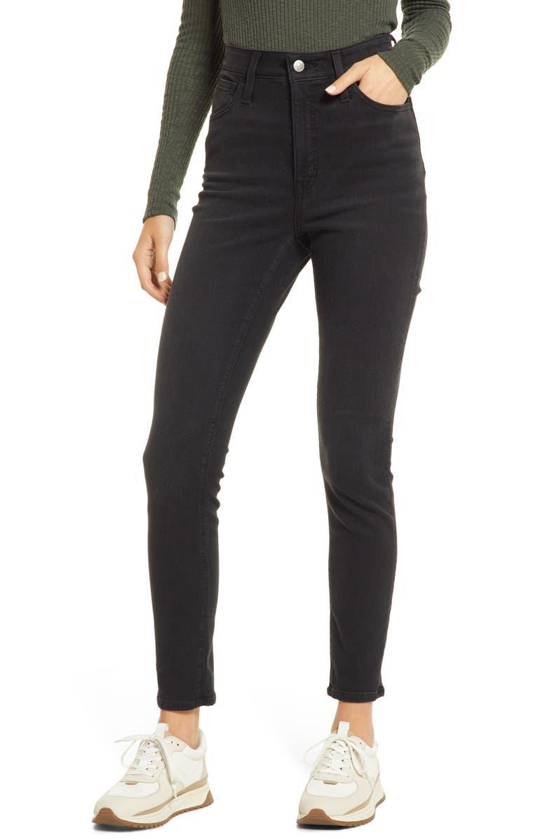 MADEWELL Curvy Roadtripper Skinny Jeans, Main, color, ARDLEY WASH