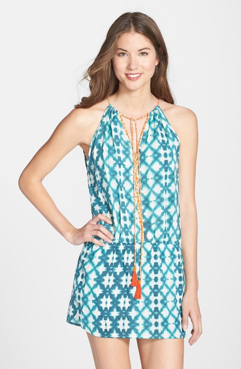 9e0831fb654a7 Sofia by ViX Swimwear 'Marseilles' Drop Waist Cover-Up Dress | Nordstrom